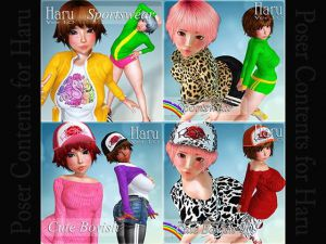 Haru Clothing Set1